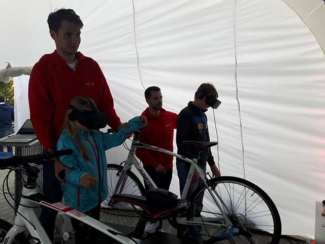 Virtuální realita na kole