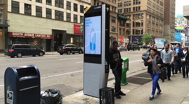 NYC LinkNYC - USB
