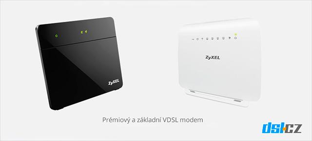 Prémiový a základní VDSL modem od O2