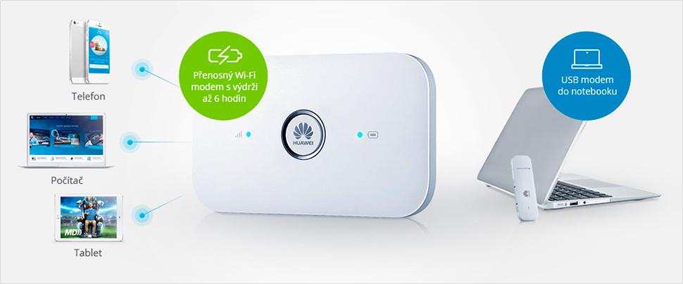 O2 mobilní internet - modemy