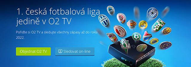 1. česká fotbalová liga - Fortuna liga v O2 TV