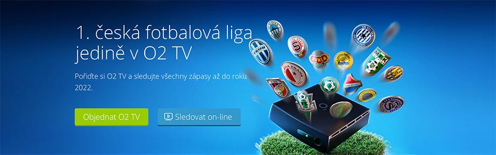 O2 TV má 1. českou fotbalovou ligu!