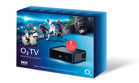 O2 TV Air - krabice