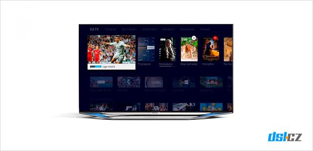O2 TV Moje menu