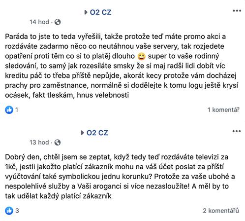 O2 TV komentáře