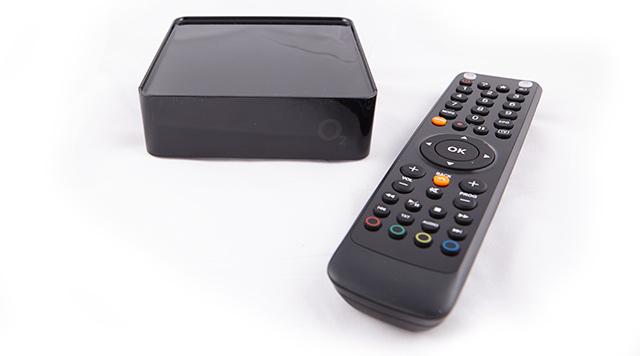 O2 TV + dálkový ovladač
