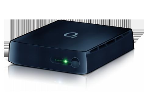 O2 TV set-top box