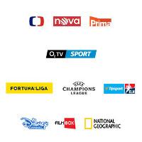 Kanály O2 TV