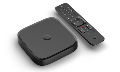 Vodafone TV set-top box