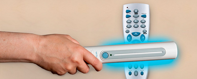 The CleanWave® Sanitizing Portable Wand