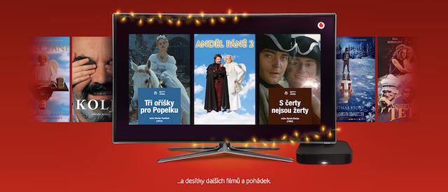 Vodafone Vánoční videotéka