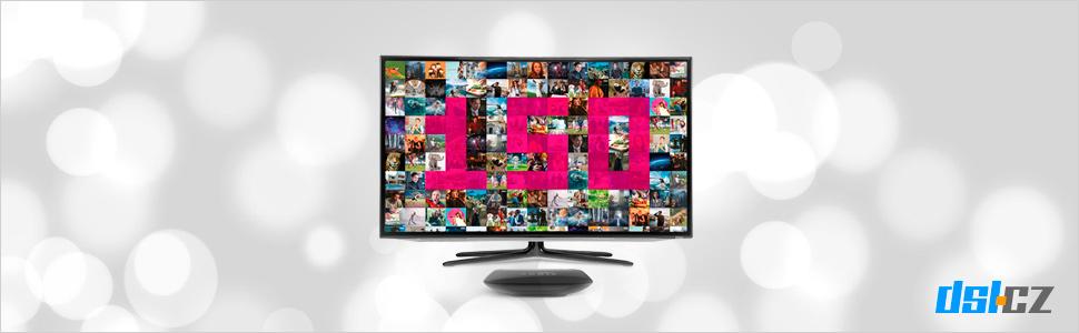 Vánoční nabídka T-Mobile TV - 150 programů v ceně!
