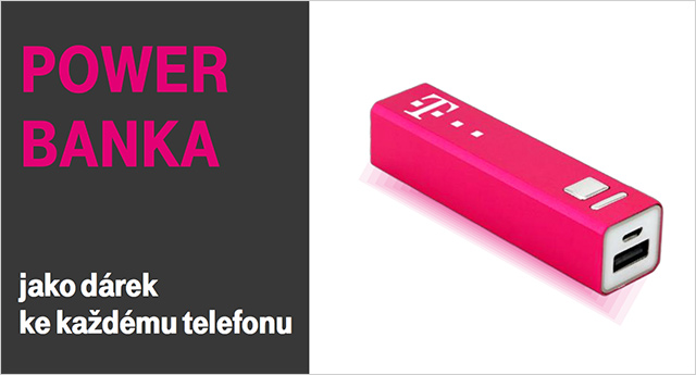 T-Mobile power banka zdarma