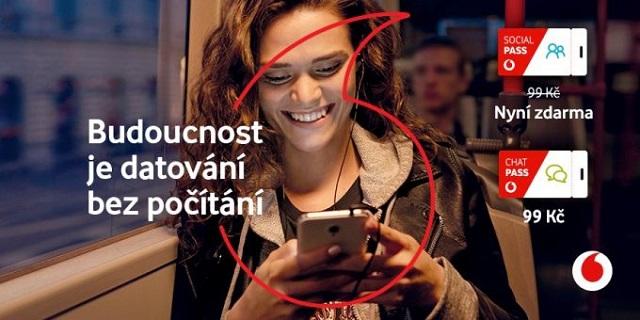 Tarify Vodafone PASS