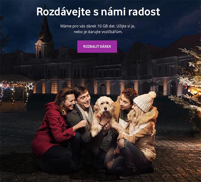 Vodafone - vánoční kampaň