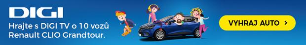 Vyhraj auto s Digi TV