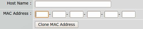Klonování MAC adresy