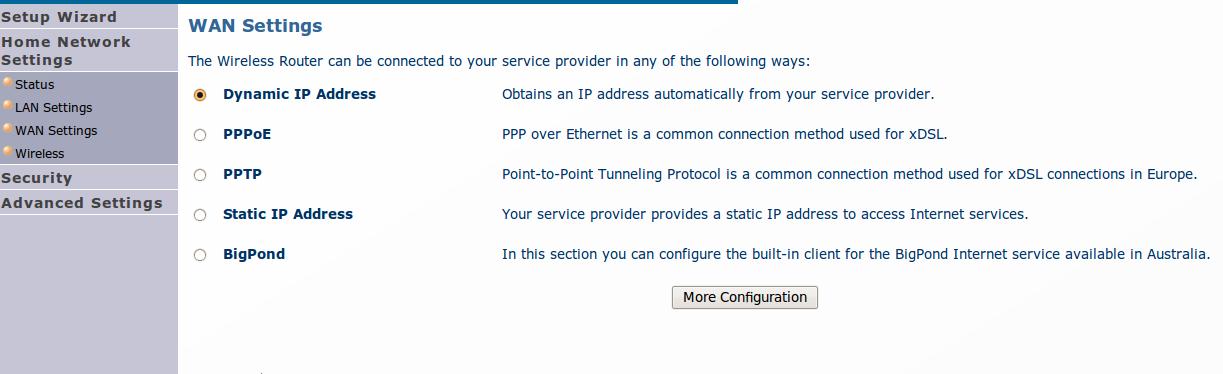 Typ IP adresy